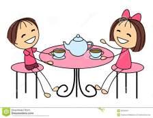 cute-little-kids-drinking-tea-isolated-39246497