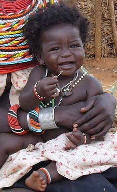 african baby