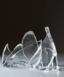 jagged glass